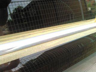 メルセデスベンツ500Sドアモール水垢研磨・コーティング施工