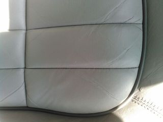 ジャガー本革シート修理・修復